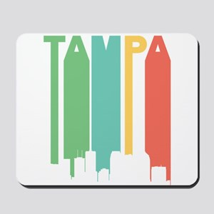 Vintage Tampa Cityscape Mousepad