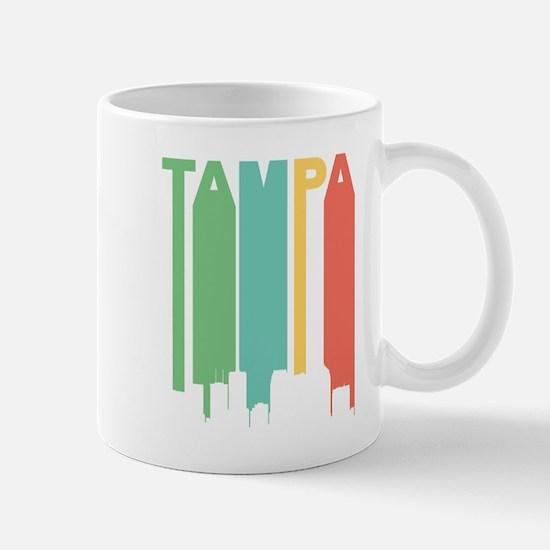 Vintage Tampa Cityscape Mugs