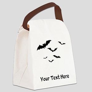 Bats Flying (Custom) Canvas Lunch Bag