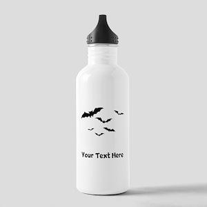 Bats Flying (Custom) Water Bottle