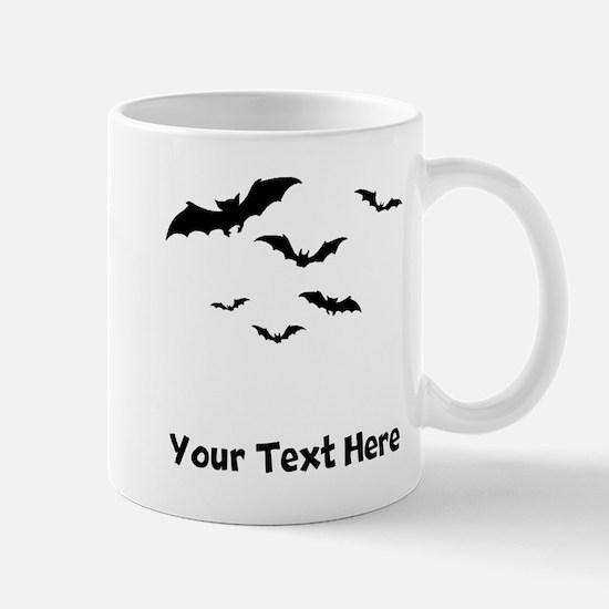Bats Flying (Custom) Mugs