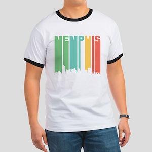 Vintage Memphis Cityscape T-Shirt