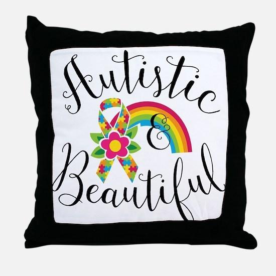 Autistic Throw Pillow