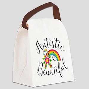 Autistic Canvas Lunch Bag