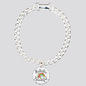 Autistic Charm Bracelet, One Charm