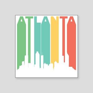 Vintage Atlanta Cityscape Sticker