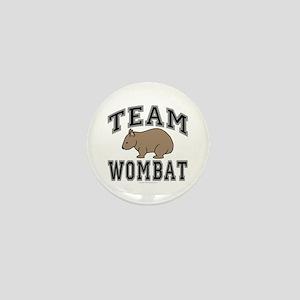 Team Wombat V Mini Button