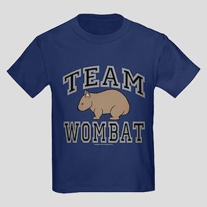 Team Wombat V Kids Dark T-Shirt