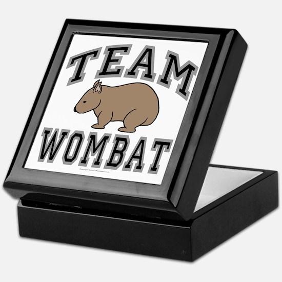 Team Wombat V Keepsake Box