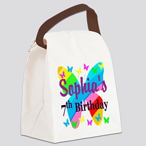 HAPPY 7TH Canvas Lunch Bag