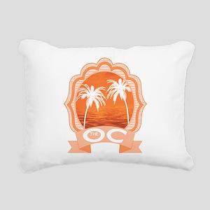 The OC TV Rectangular Canvas Pillow
