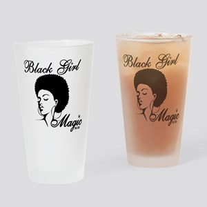 Black Girl Magic Drinking Glass