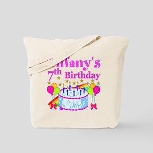 HAPPY 7TH Tote Bag