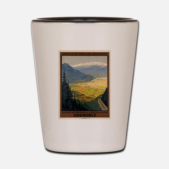 Vintage poster - Grenoble Shot Glass