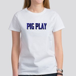 PIGPLAY -DARK BLUE Women's T-Shirt