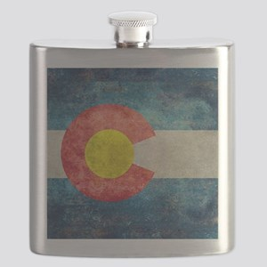 (B) Colorado State Flag Flask