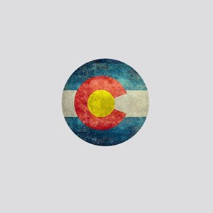 (B) Colorado State Flag Mini Button (10 pack)