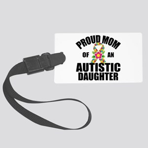 Autism Mom Large Luggage Tag