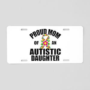 Autism Mom Aluminum License Plate
