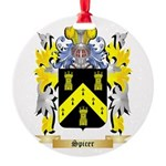 Spicer Round Ornament