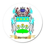 Sperlings Round Car Magnet