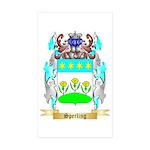 Sperling Sticker (Rectangle 50 pk)