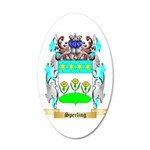 Sperling 20x12 Oval Wall Decal