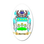 Sperling 35x21 Oval Wall Decal
