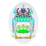 Sperling Oval Ornament