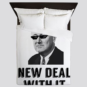 New Deal With It Queen Duvet
