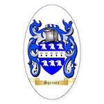 Spenser Sticker (Oval 50 pk)