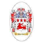 Spender Sticker (Oval 50 pk)