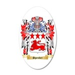 Spender 35x21 Oval Wall Decal