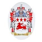 Spender Oval Ornament