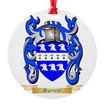 Spencer Round Ornament