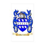 Spencer Sticker (Rectangle 50 pk)