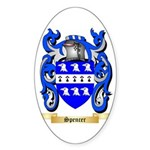 Spencer Sticker (Oval 50 pk)