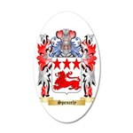 Spencely 35x21 Oval Wall Decal