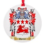 Spence Round Ornament