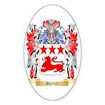 Spence Sticker (Oval 10 pk)