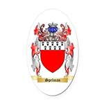 Spelman Oval Car Magnet