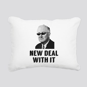 New Deal With It Rectangular Canvas Pillow