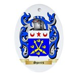 Speers Oval Ornament
