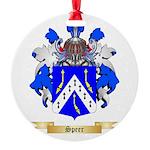 Speer Round Ornament