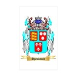 Speakman Sticker (Rectangle 10 pk)