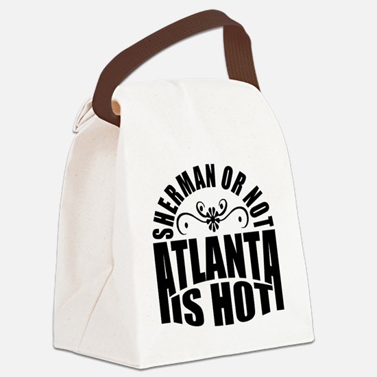 Unique Hotlanta Canvas Lunch Bag