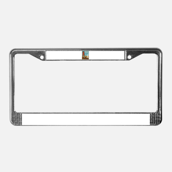 Vintage poster - New Zealand License Plate Frame