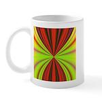 Red Drapery Fractal Mug