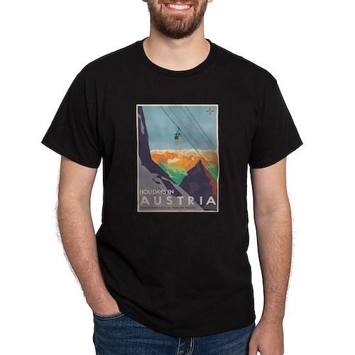 Vintage poster - Austria T-Shirt