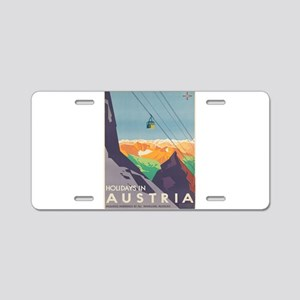 Vintage poster - Austria Aluminum License Plate